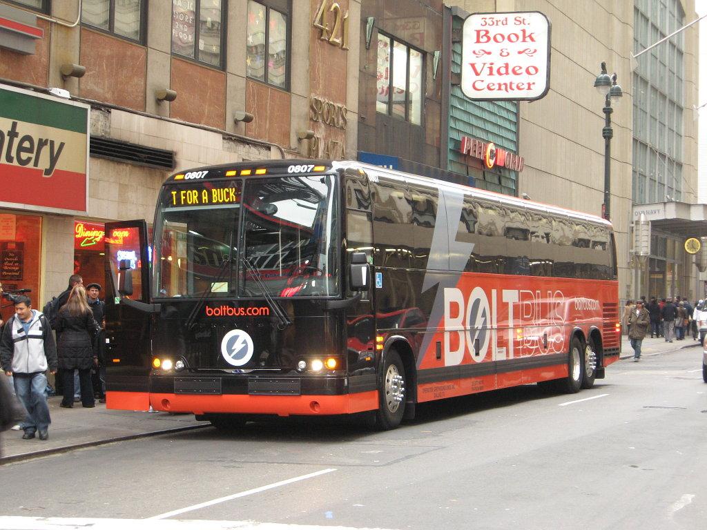 ボルトバス 長距離バス