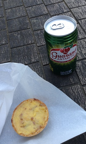 egg tart & guarana