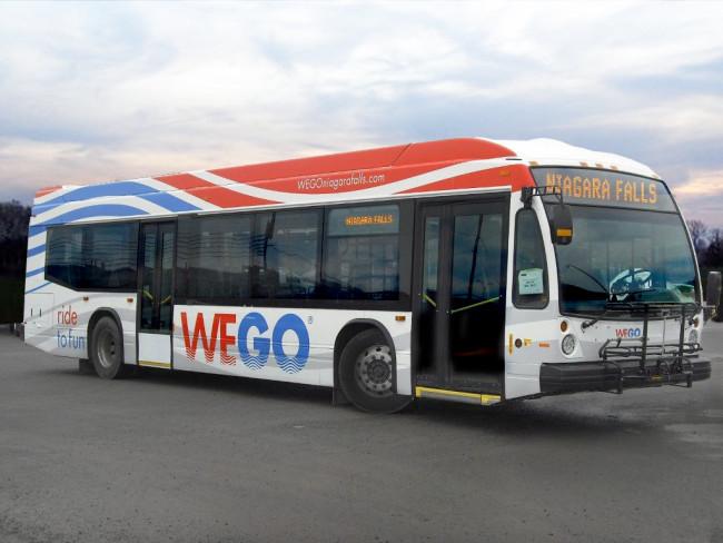 ナイアガラフォールズ 市内シャトルバス