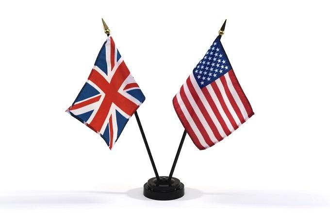 アメリカ英語とイギリス英語
