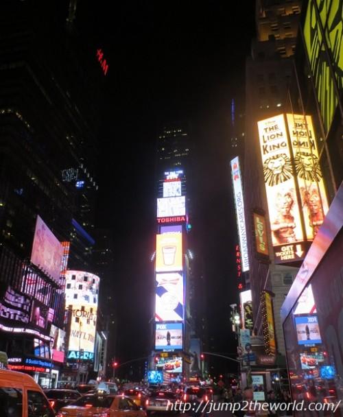 タイムズスクエア ビル ニューヨーク