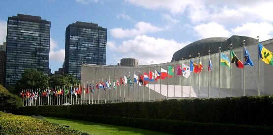 国連本部 国旗 ニューヨーク