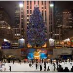 ロックフェラーセンター クリスマスツリー ニューヨーク
