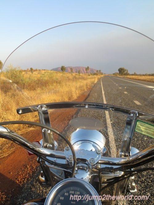 Uluru by harley davidson