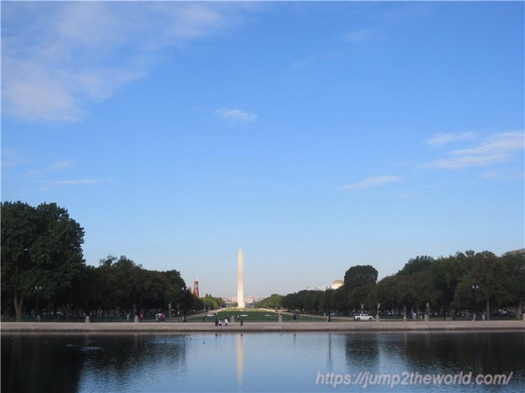 連邦議会議事堂からの眺め