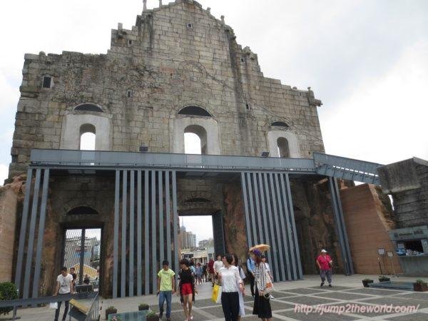 聖ポール天主堂跡 Ruinas de S.Paulo