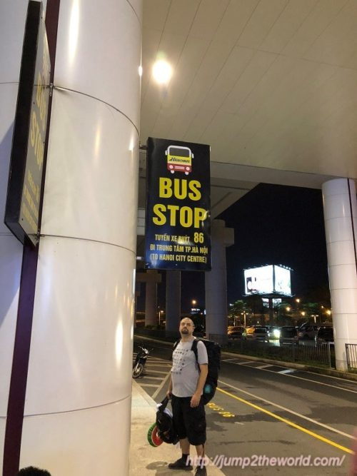 #86bus stop