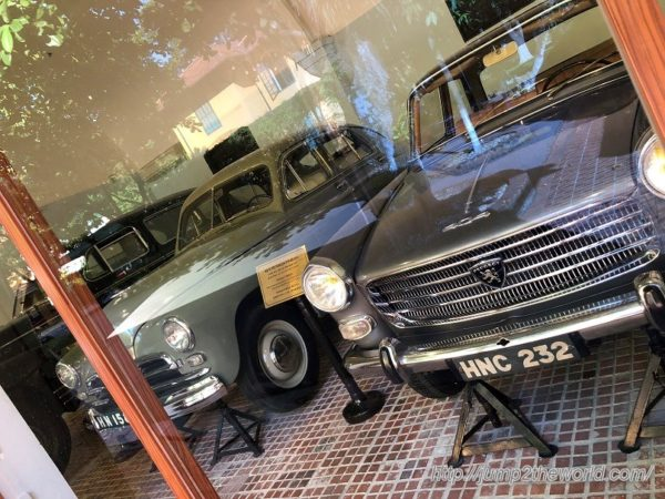 Ho Chi Minh's automobile collections