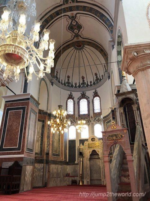 suleymaniye camii_inside