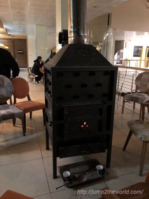 Fireplace Nemrut Dagi