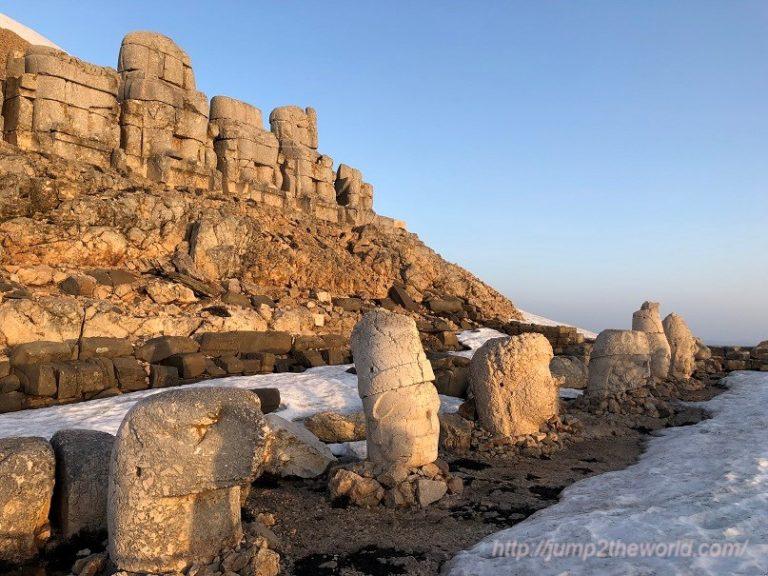 World heritage Nemrut Dagi