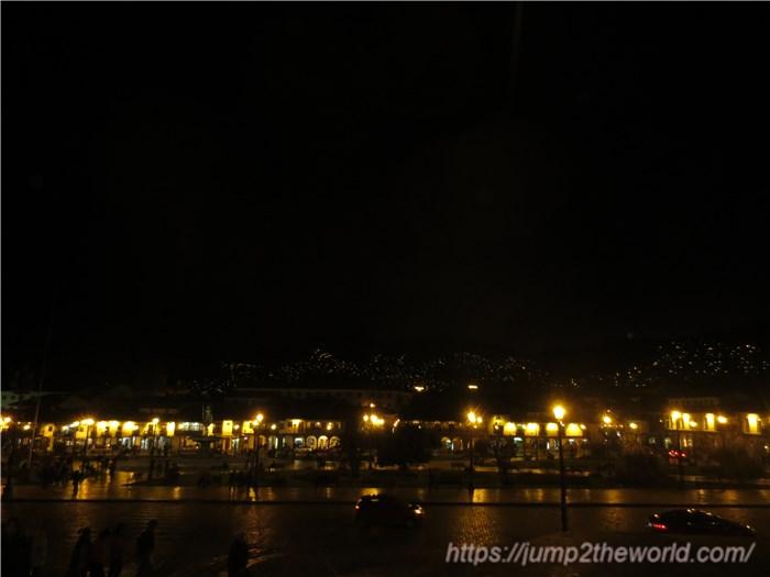 クスコの夜