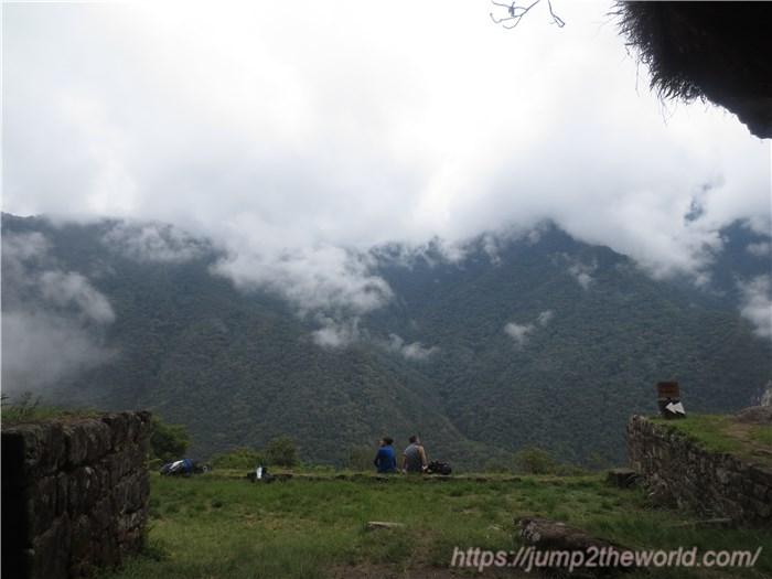 ワイナピチュ 月の神殿からの眺め