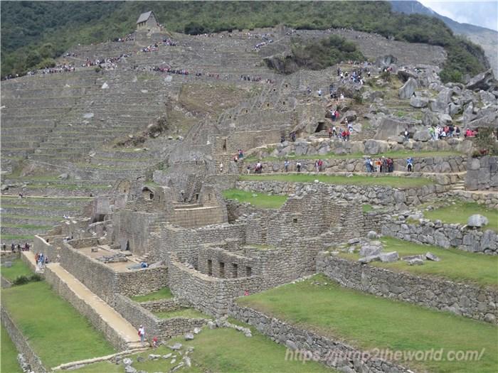 マチュピチュ インカ王の家