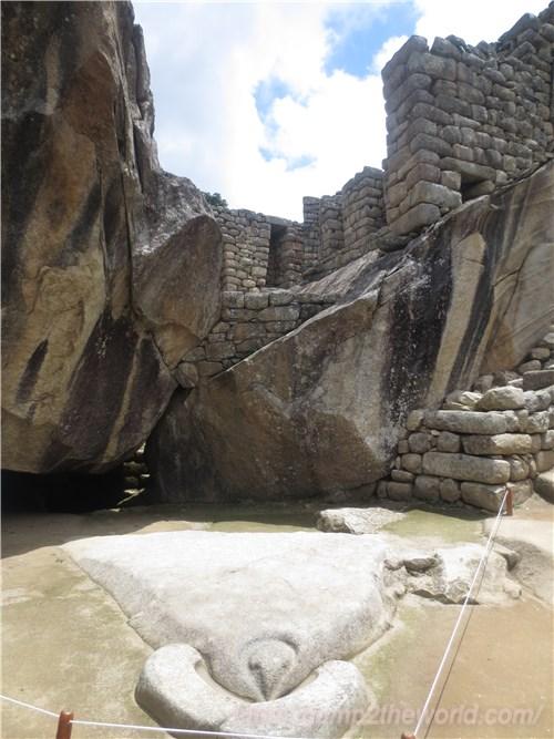 マチュピチュ コンドルの神殿1