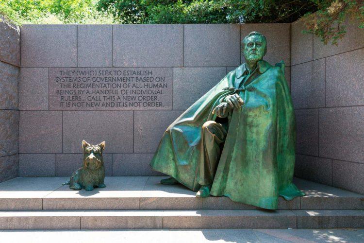 フランクリン・D・ルーズベルト記念碑3