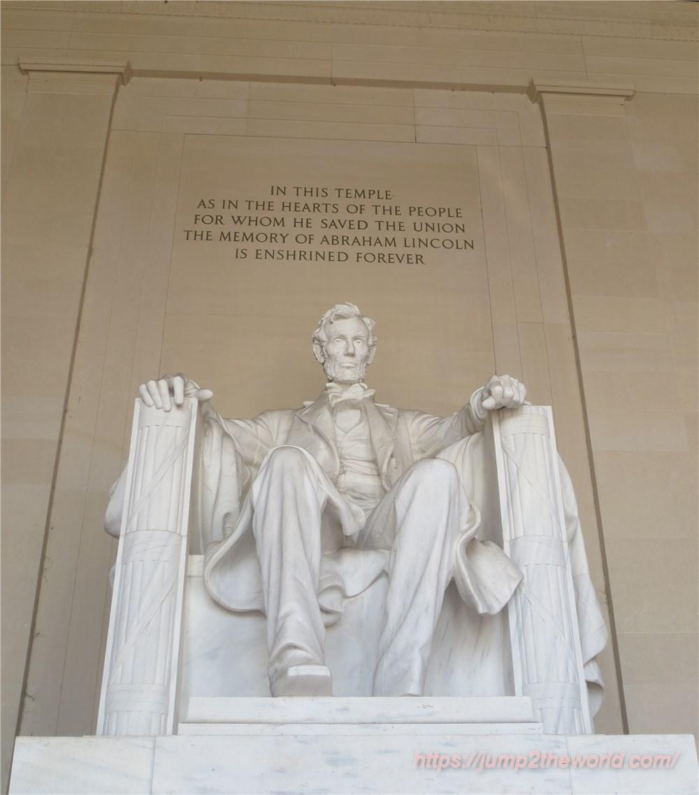 リンカーン座像1