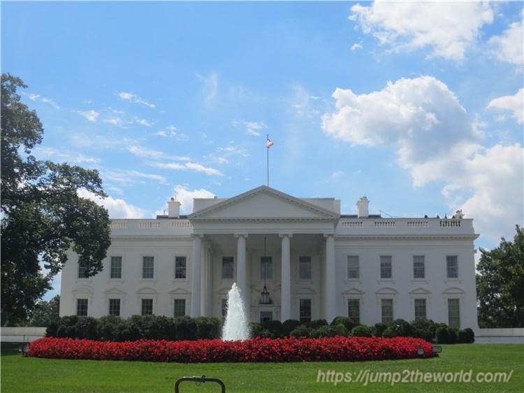ホワイトハウス裏