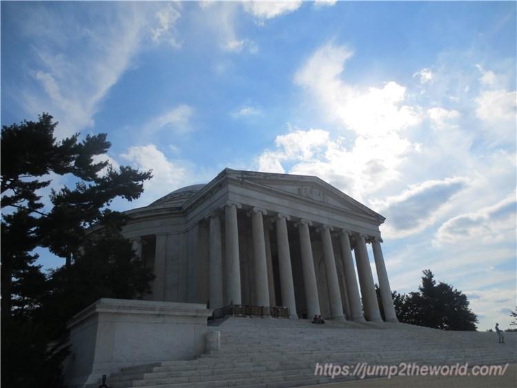 トーマス・ジェファーソン記念堂1