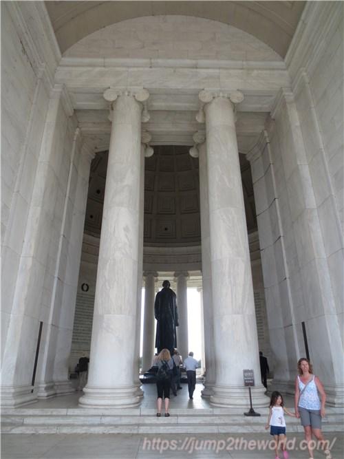 トーマス・ジェファーソン記念堂2