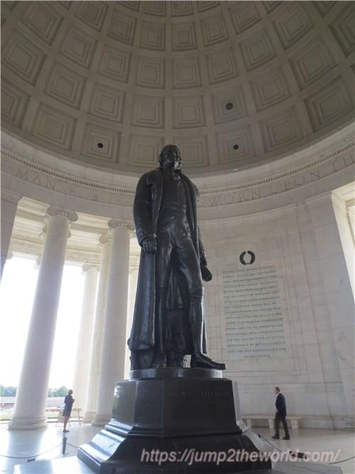 トーマス・ジェファーソン記念堂3