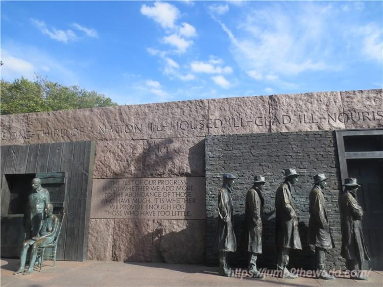 フランクリン・D・ルーズベルト記念碑1