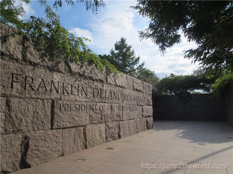 フランクリン・D・ルーズベルト記念碑