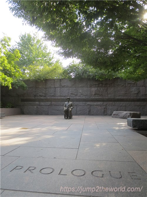 フランクリン・D・ルーズベルト記念碑 プロローグ